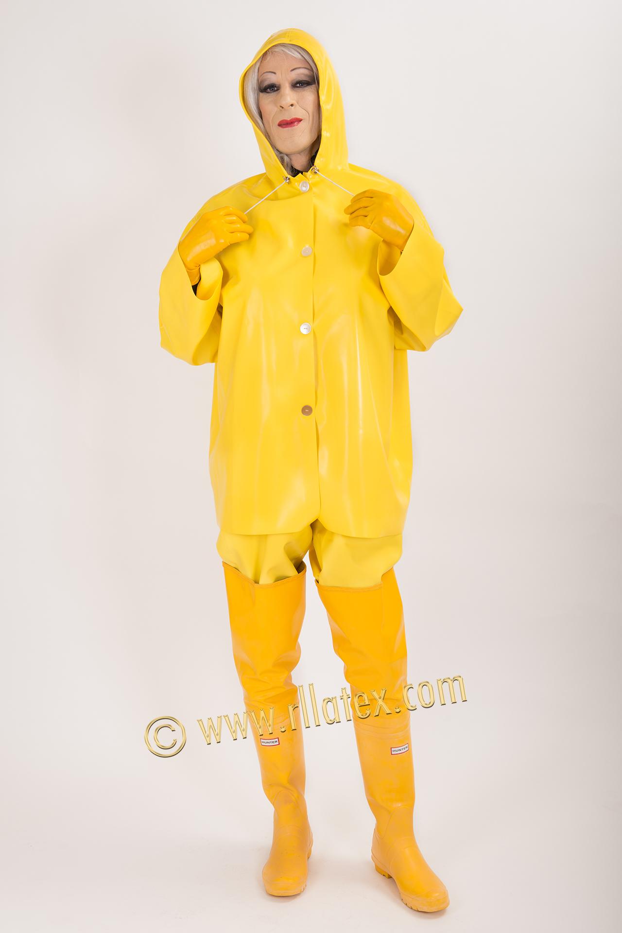 Half Jacket 2 0 >> Latex rain wear